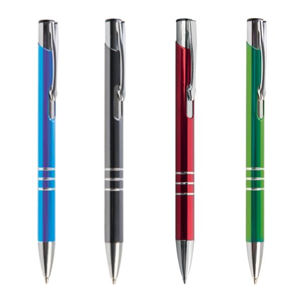 penna in metallo chrome