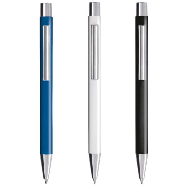 penna metallo soft touch personalizzata vincent