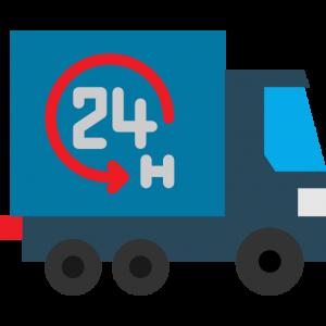 consegna urgente in 24 ore